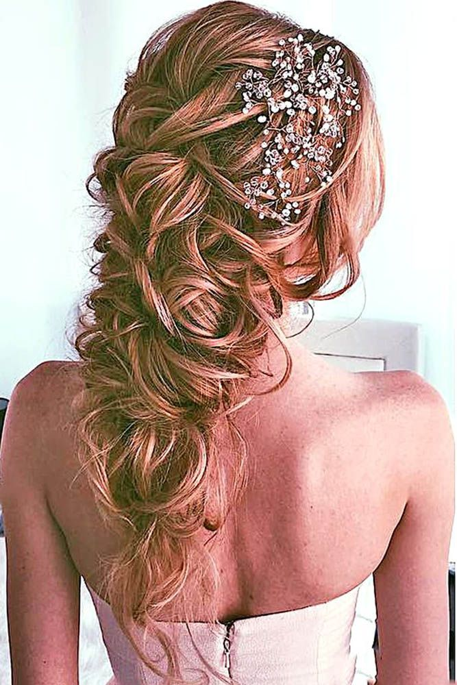 Wedding Hairstyles For Long Hair ❤ Whether you are looking for a Half Up Half ...