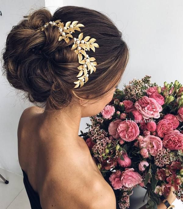 Wedding hairstyles wedding updo hairstyles for long hair from wedding updo hairstyles for long hair from ulyana aster05 see more dee junglespirit Choice Image