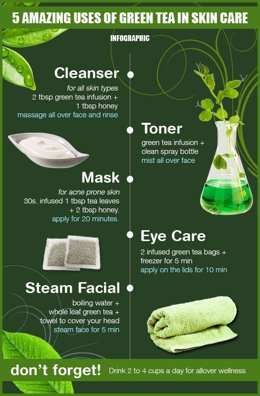 amazing beauty-diys-using-green-tea