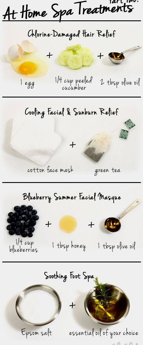 At Home Spa Treatments  Get free natural skin care tips and tutorials. Learn all...