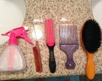 BIracial Hair Care 101: How to buy the right combs and brushes for biracial hair...