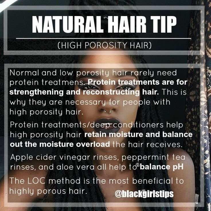 Black Girls Tips — Natural Hair Tip: High Porosity Hair