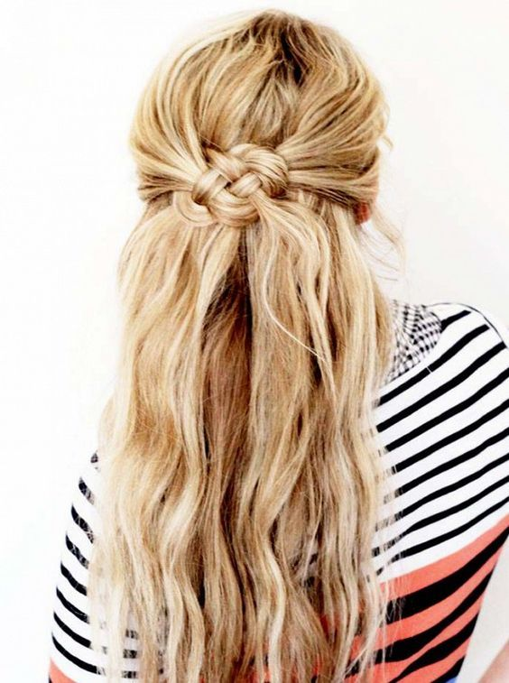 Celtic Knot The great thing about this braid is that it looks more intricate tha...