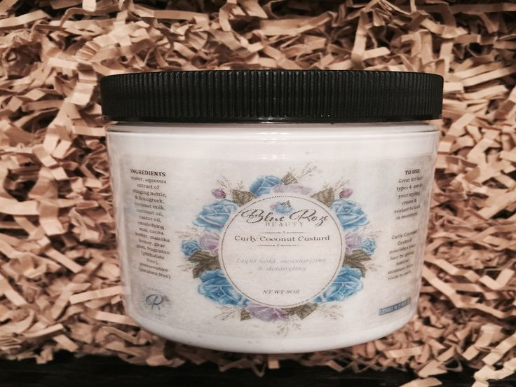 Curly Coconut Custard Use as your styling agent, and sealant to lock in moisture...