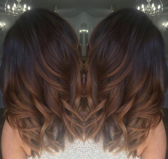Hair Care Ideas Dark Brown With Chocolate And Caramel Ombre Hairjpg
