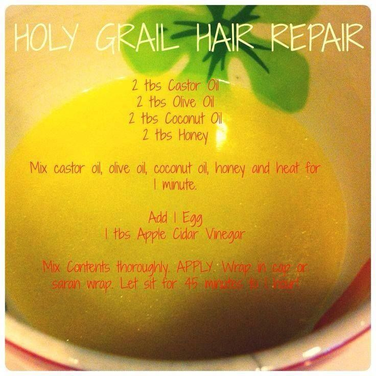 DIY Hair Repair home remedy  ✽¸.•♥♥•.¸✽ Join my great healthy livi...