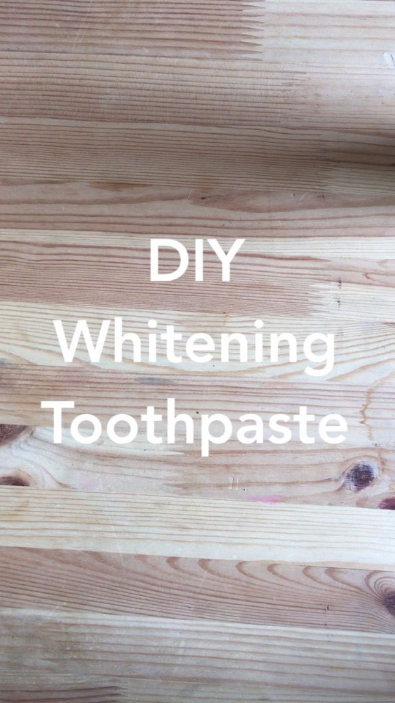DIY Whitening Toothpaste is the Best Beauty Hack