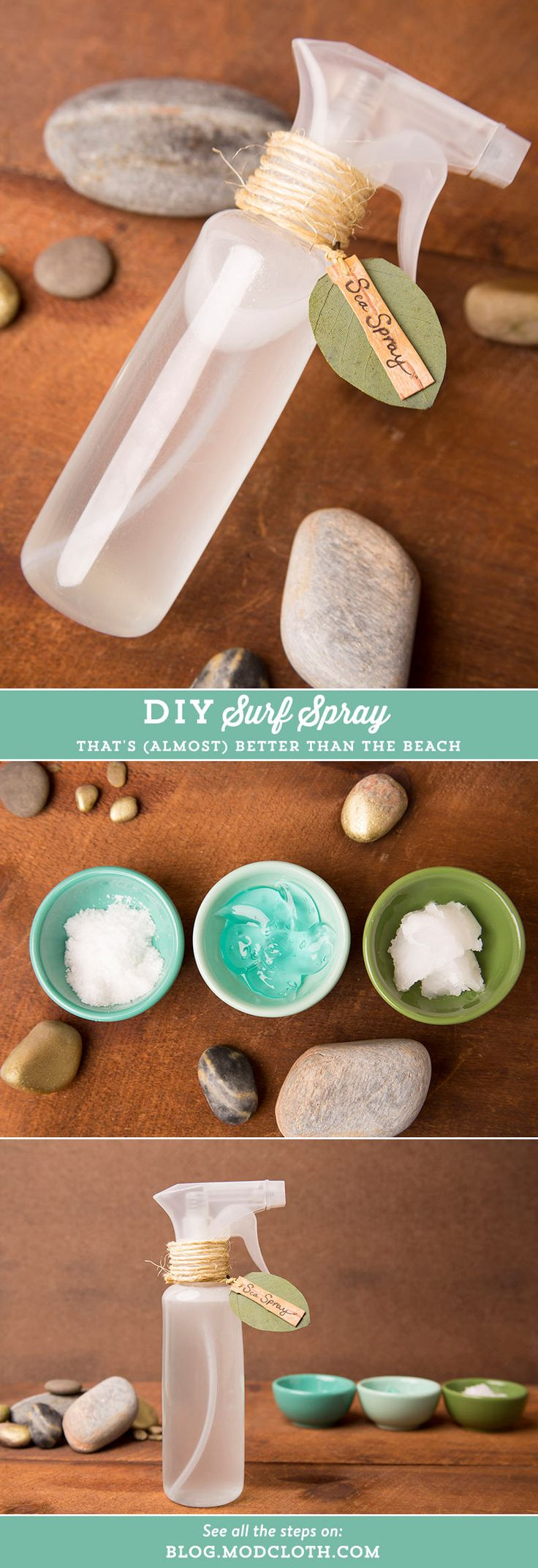 Get the waves without the beach with this super easy summer-ready DIY.