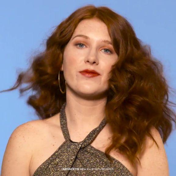 How to: Full beachy curls