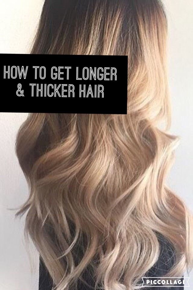 How To Get Longer And Thicker Hair #Musely #Tip