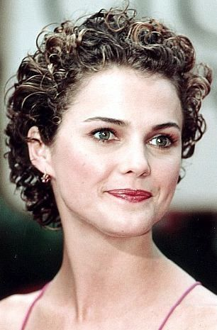 Image result for Very Short Curly Hair