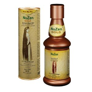 It's a Miracle Oil; Nuzen Herbal Authentic Ayurvedic Indian Formula promotes n...