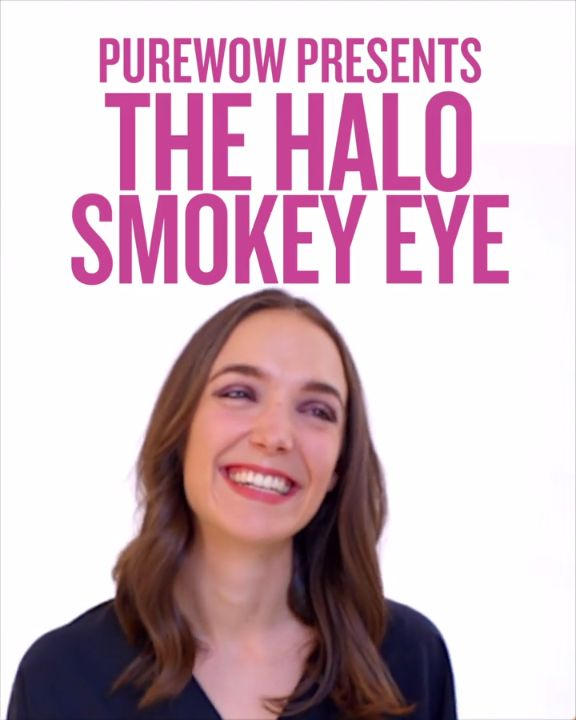 Meet the halo smoky eye. A twist on the classic smoky eye that guarantees you&#3...