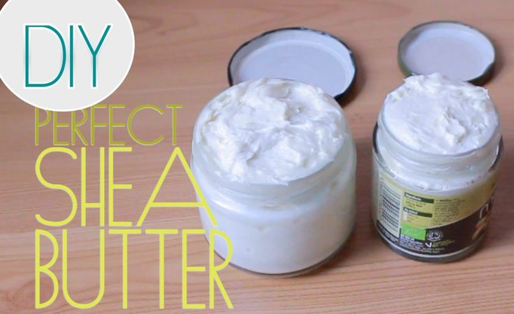 Perfect Homemade Creamy Shea Butter That Stays Fluffy [Video] - community.blackh...