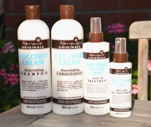 Renpure Originals Coconut Cream Hair Products #sponsored beauty review on The Cl...