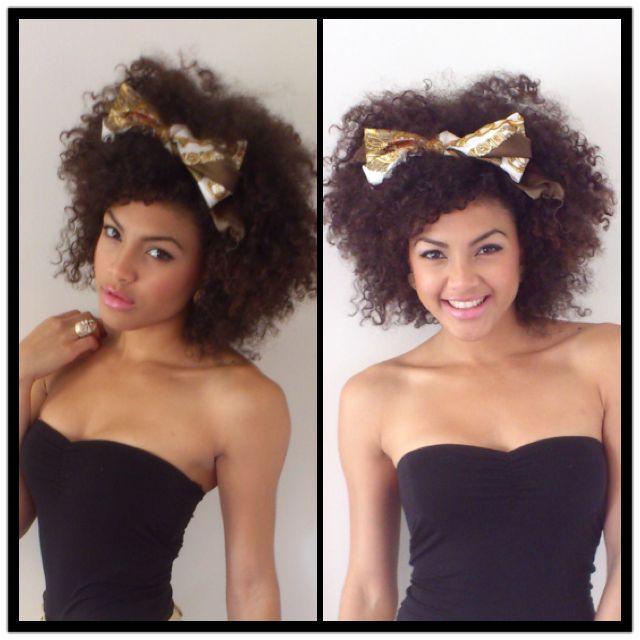 Samio is Naturally Glam! | Curly Nikki | Natural Hair Styles and Natural Hair Ca...