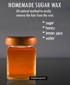 Sugaring is an all-natural method that uses a paste or gel made from sugar, wate...
