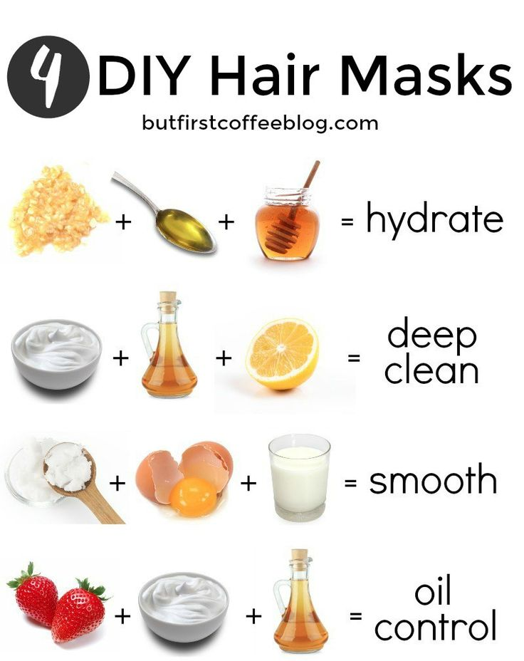 There is a DIY hair mask out there for every hair type. Whether your hair is dry...