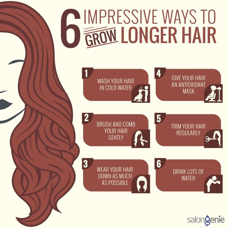 Visit myartismakeup.com! How Can You Grow Longer Hair Easily?  . Here we have 6 ...