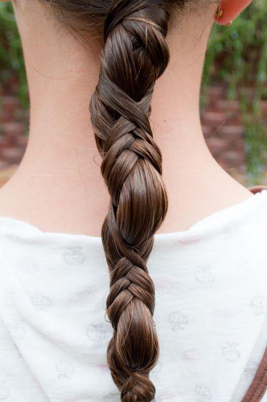 A braid and a ponytail. / Braids #hair