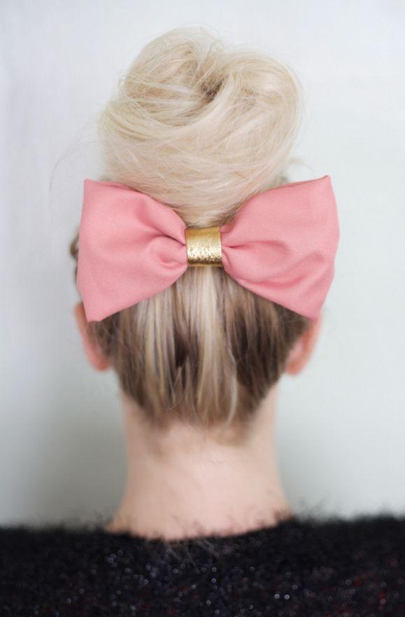Fine Hair Tutorials Big Bun Cute Bow We Love Bold Hair Accessories Schematic Wiring Diagrams Amerangerunnerswayorg