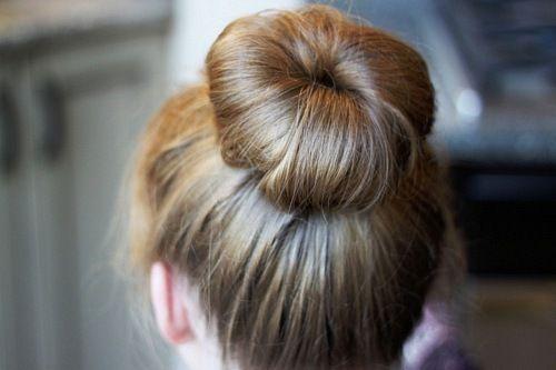 Classic and classy bun.
