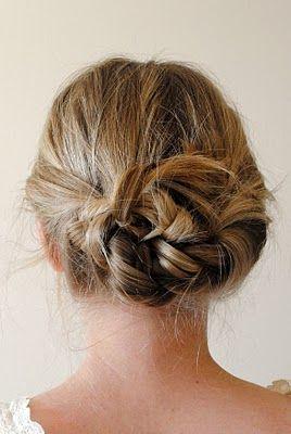 Easy hair for work