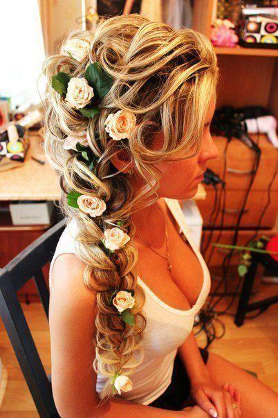 Fancy flower braid / Braids #hair