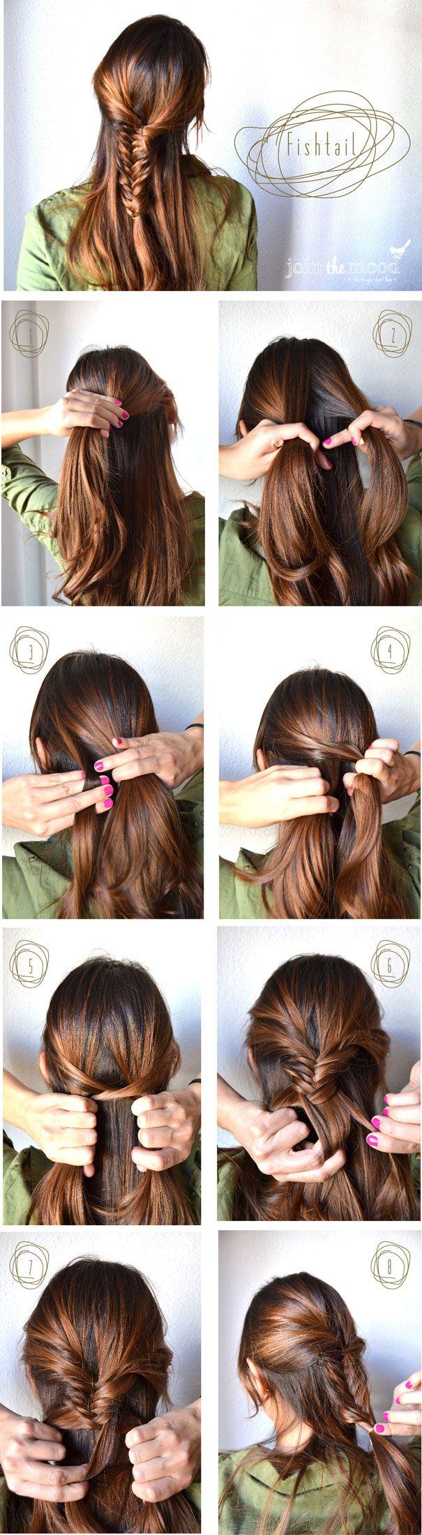 Fishtail / Braids #hair