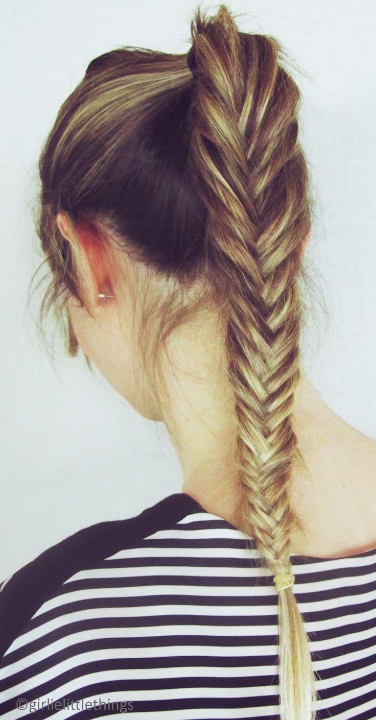 Fishtail ponytail / Braids #hair