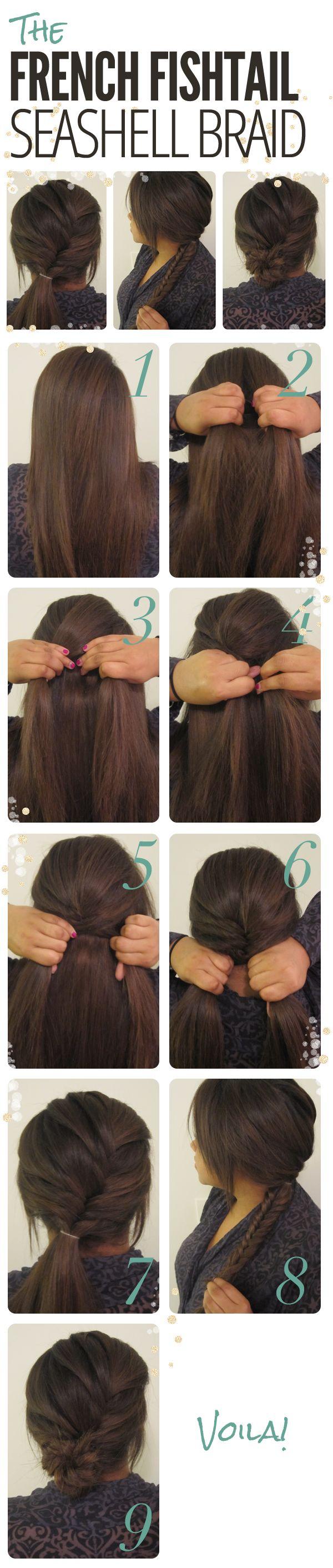 French Fishtail Seashell / Braids #hair
