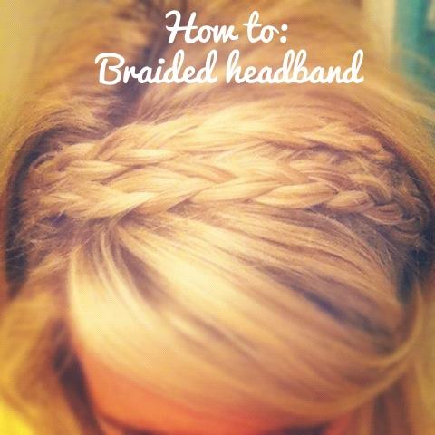 How to: Braided Headband / Braids #hair