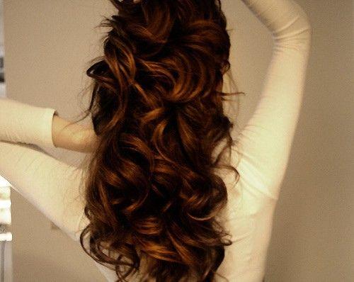 Long lovely curls / #hair