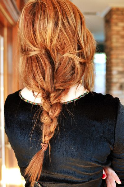 messy braid done right