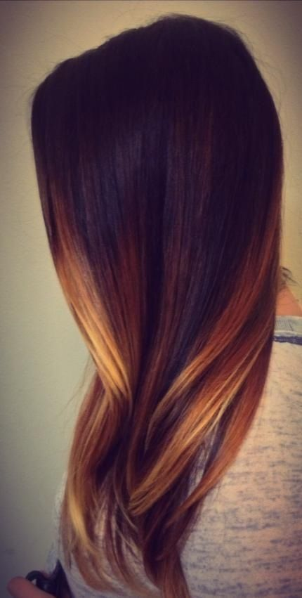 Ombre strands / #haircolor