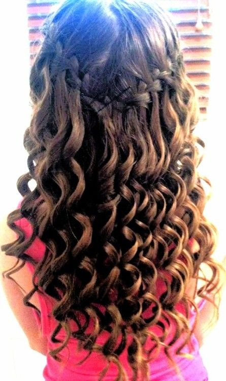 Pretty wave curls / #hair