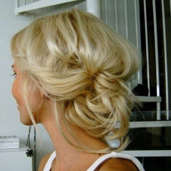 Quick & Cute, Inverse bun updo / #hair