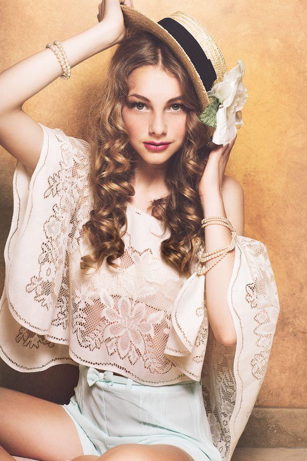 Ringlet hair #pretty