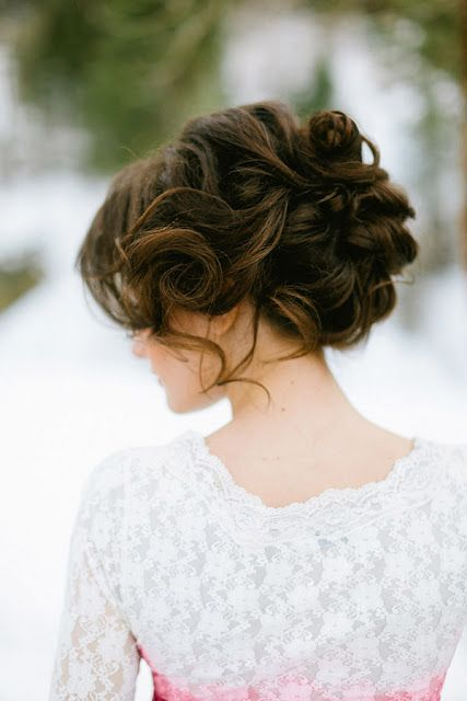 Romantic updo / #hair
