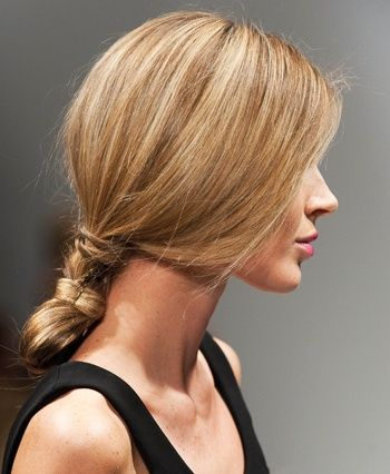 Spring Hair Trend: Low twisted buns #hair