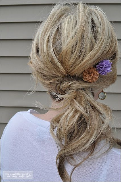 The Knot Ponytail