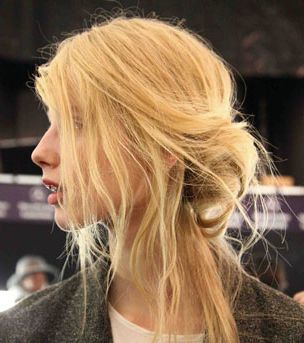 the ultimate messy bun -- and three other ways to update your daily updo