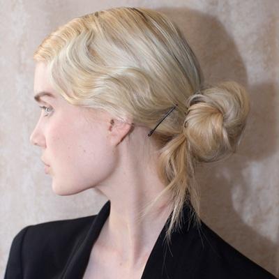 Zac Posen: Old Hollywood Style Updo / #hair