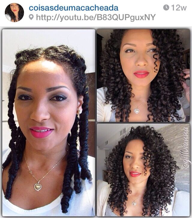 3 strand twist out