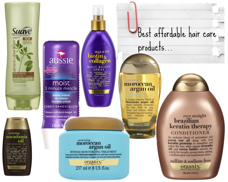 Best Hair Products for Healthy Hair: Drugstore Edition