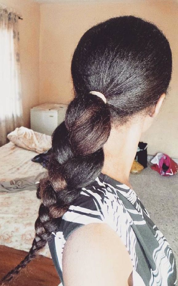 How I Grew Long Natural Hair Using the 'Indian Oiling Method'   Curly Ni...