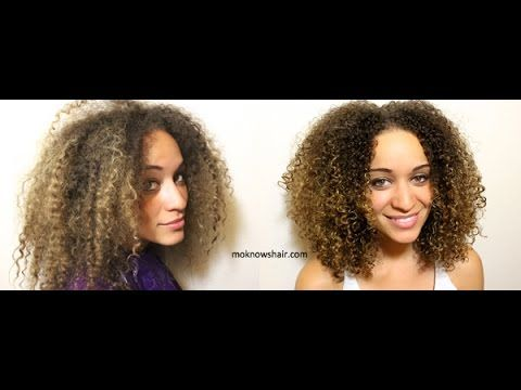 See how Mo Knows Hair restores and revives damaged curls, featuring our #Ouidad ...