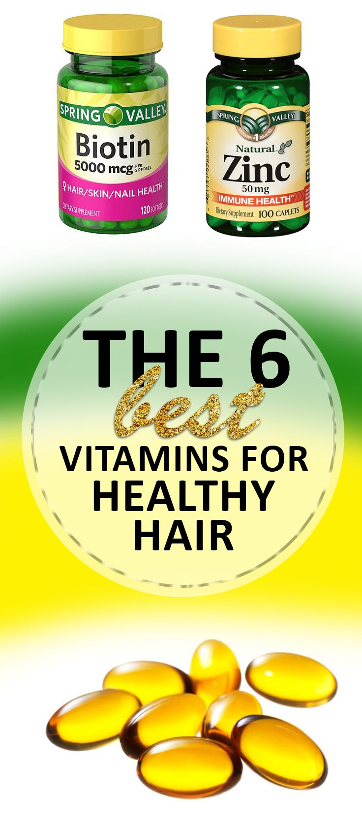 These vitamins will help you have long and healthy hair!