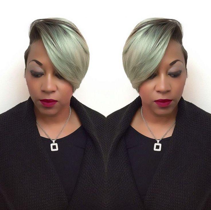 Edgy color via @hairbylatise - community.blackha...