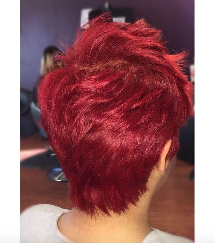 Funky red via Kisha Jefferson - community.blackha...